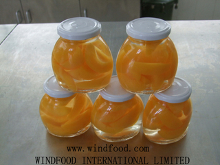 Canned Peach (glass)
