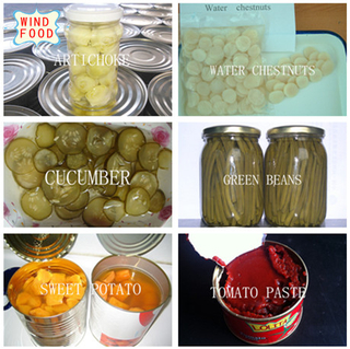 Vegetable Canned Food