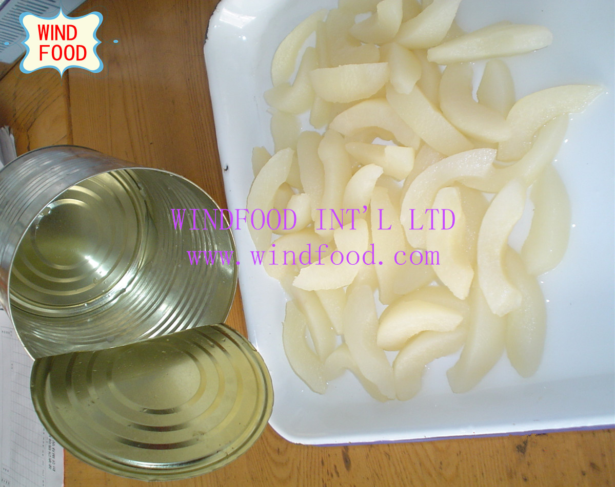 Canned pears diced / sliced / halves / chip diced